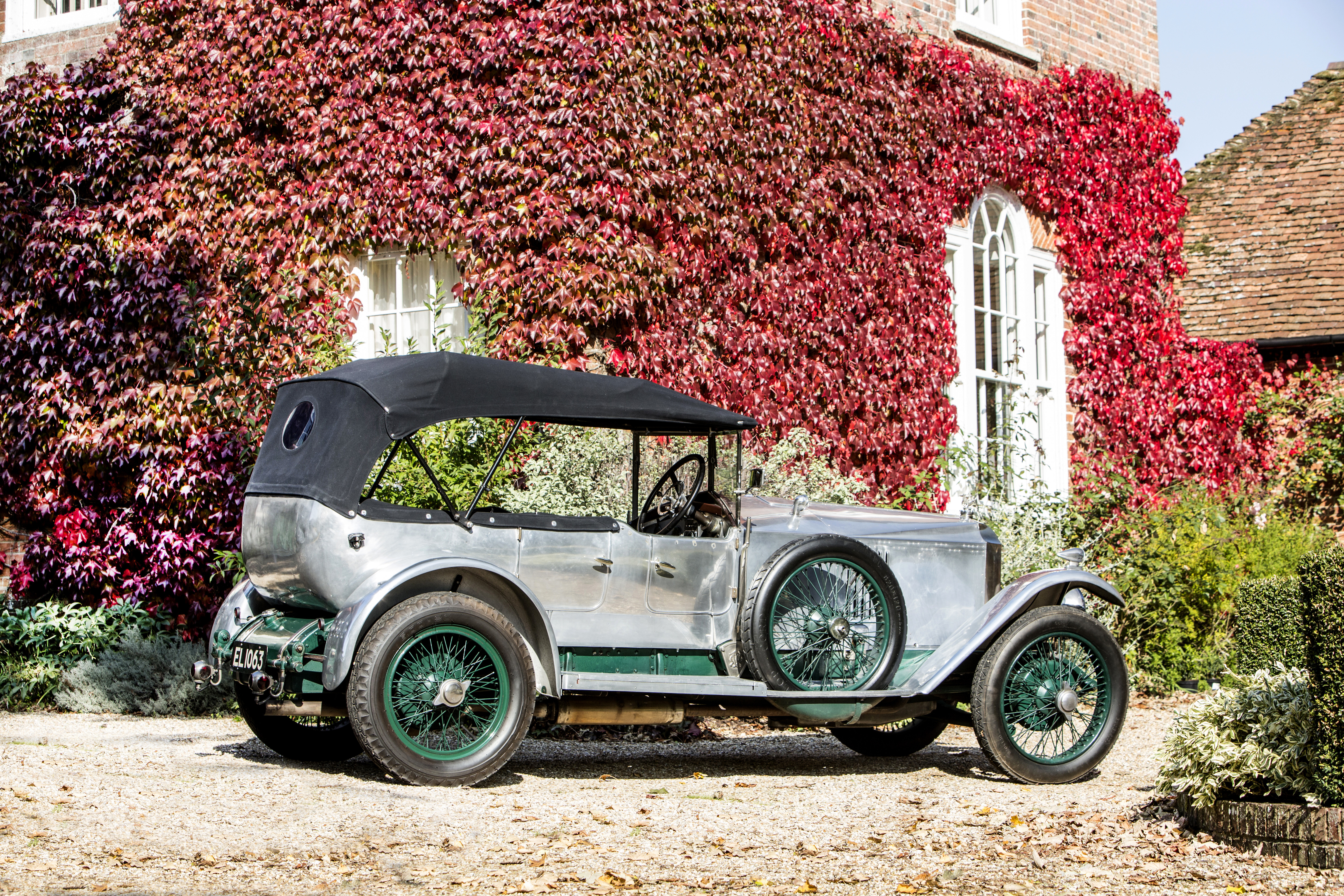 This Vauxhall 30-98 once owned by the final maharajah of Kashmir will be offered by Bonhams next month. | Bonhams photos