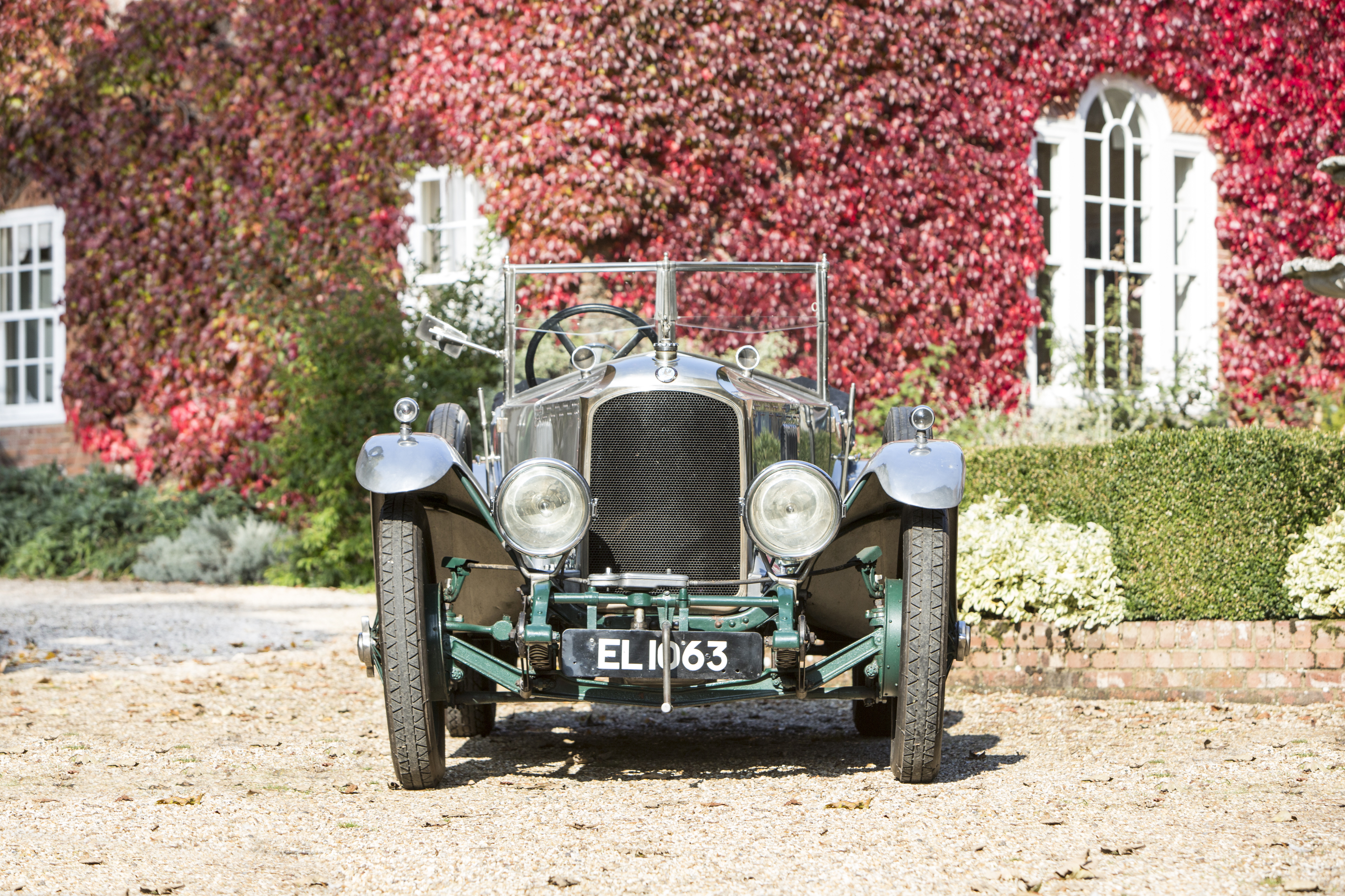 This Vauxhall 30-98 once owned by the final maharajah of Kashmir will be offered by Bonhams next month.   Bonhams photos