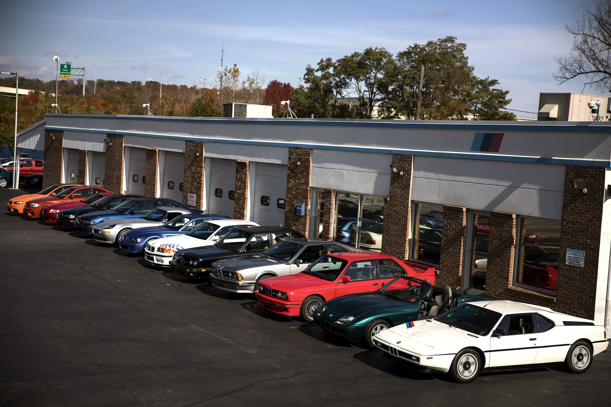 Paging all BMW fans: You're going to want to see this collection.   Enthusiast Auto Group photos