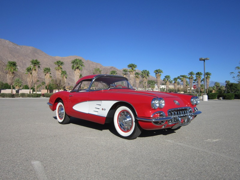 This classic Porsche was the top selling car at McCormick's Palm Spring Auction. | McCormick photo