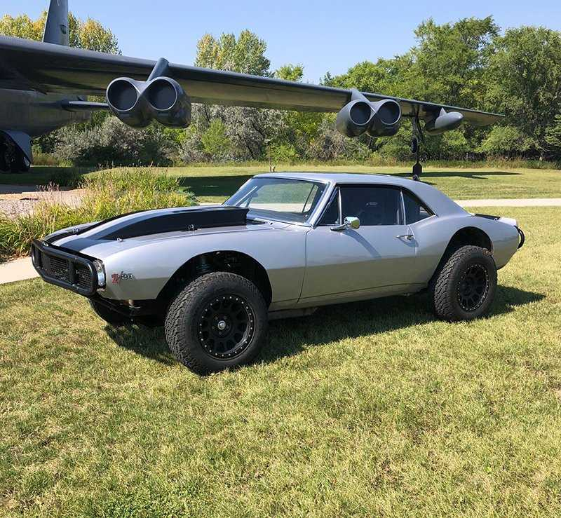 What's not to love about an off-road ready muscle car? | Live Auctioneers photo