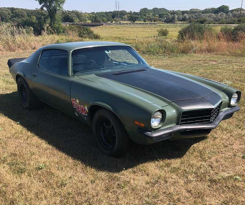 Spoiler alert: This car was used to kill someone in a movie. | Live Auctioneers photo
