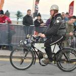 A motorbike makes the Run #8750-Howard Koby photo
