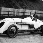 BABS with Parry Thomas 1926 at Brooklands