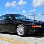 BMW 850i front