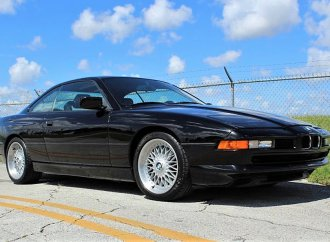 V12-powered BMW 850i coupe