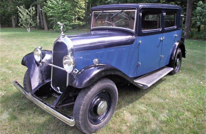 Pre-war French classic, Delahaye sedan is priced affordably