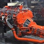 Corvette 396 cutaway engine