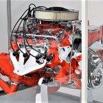 Corvette 396 cutaway engine front