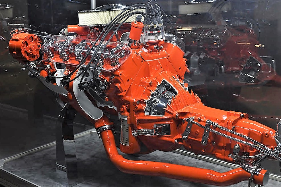 396 chevy big block engines