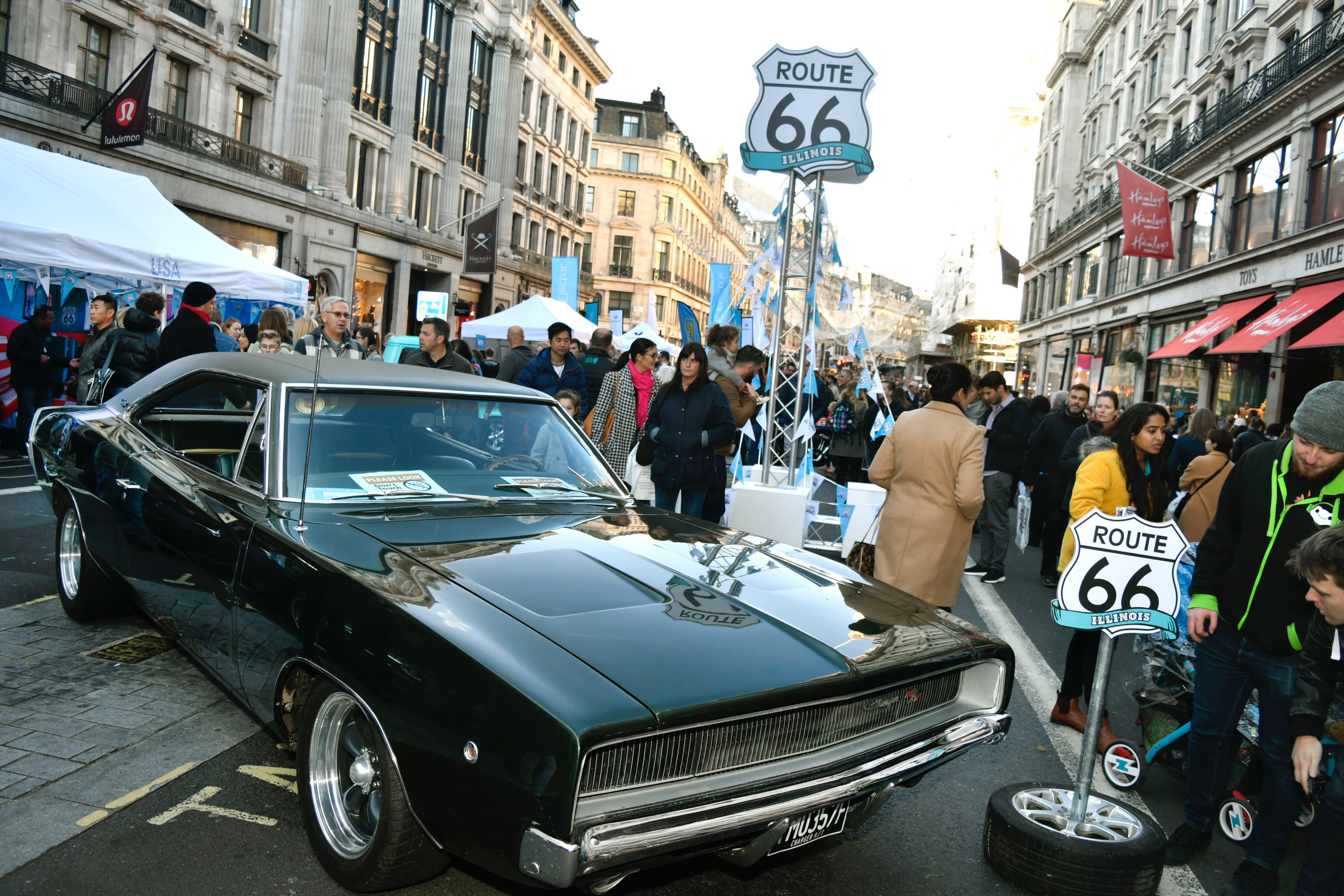 Regent Street Motor Show, British get their kicks on Regent Street, ClassicCars.com Journal