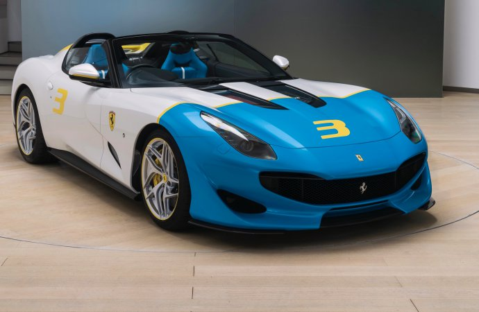 Ferrari delivers one-off SP3JC