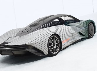 McLaren launches Albert, the first Speedtail test mule