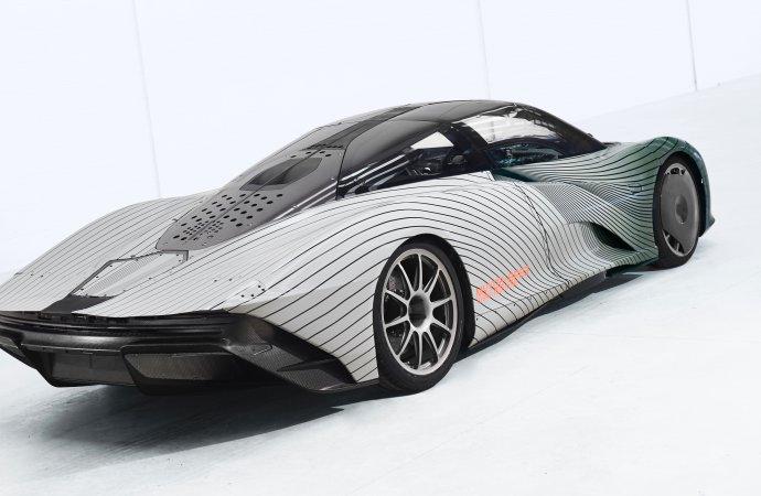 McLaren launches Albert, the first Speedtail test mule