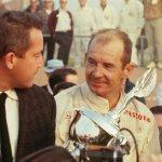 Robert E. Petersen and Parnelli Jones