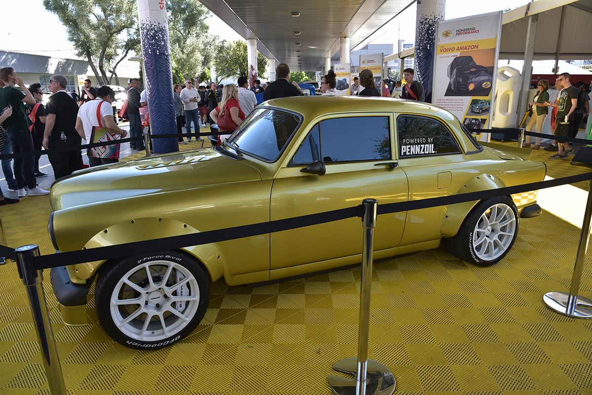 Jeff Allen, Jeff Allen unveils insane Volvo Amazon-Corvette mashup at SEMA Show, ClassicCars.com Journal