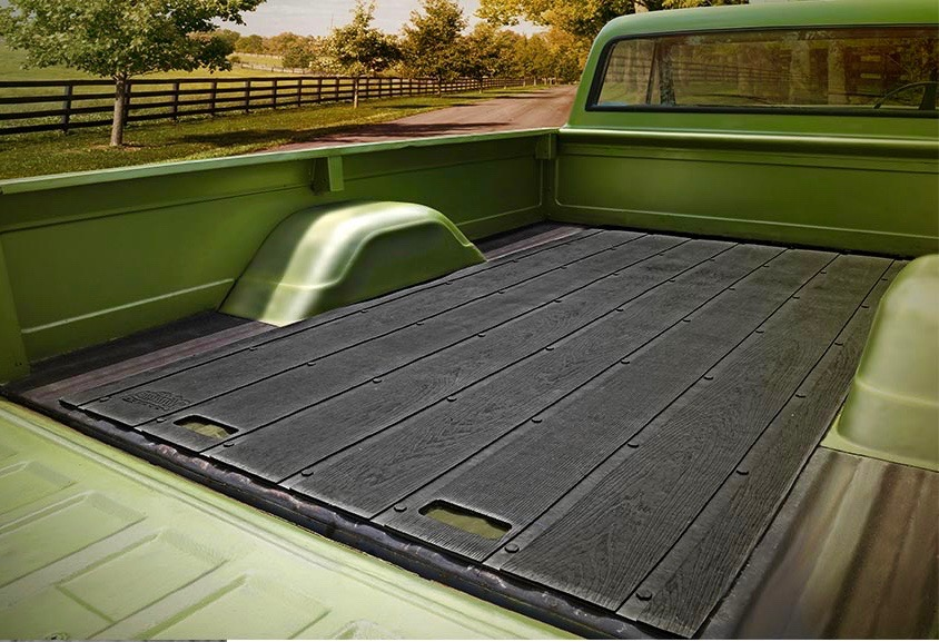 Truck Bed Mats >> Vintage Look For Recycled Rubber Pickup Truck Bed Mat