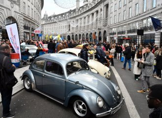 British get their kicks on Regent Street