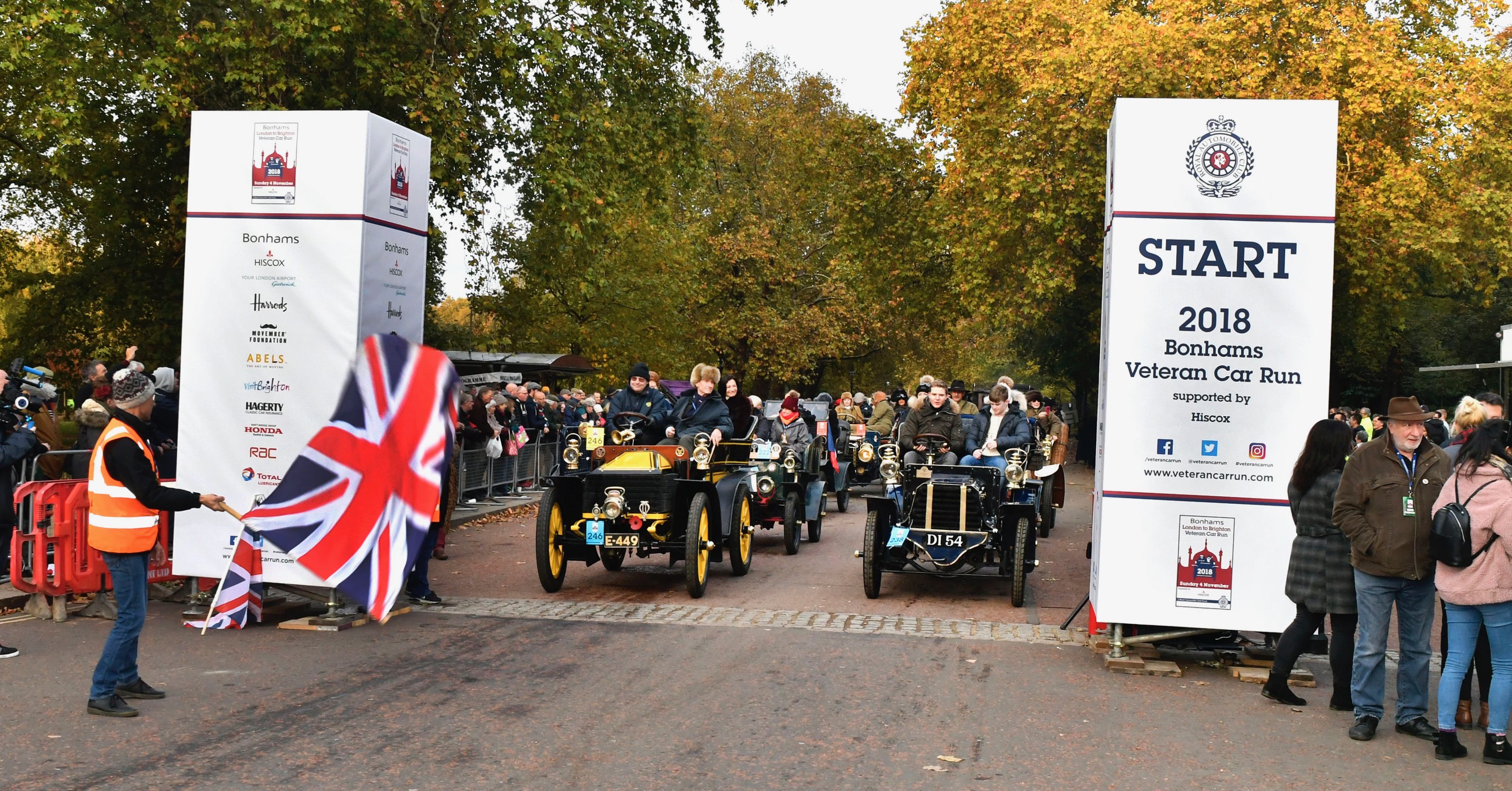 London to Brighton, The merry men and women of London to Brighton, ClassicCars.com Journal
