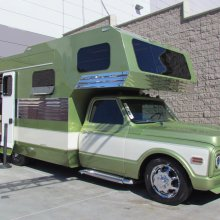 SEMA Seen: 1972 Chevrolet C30 custom camper