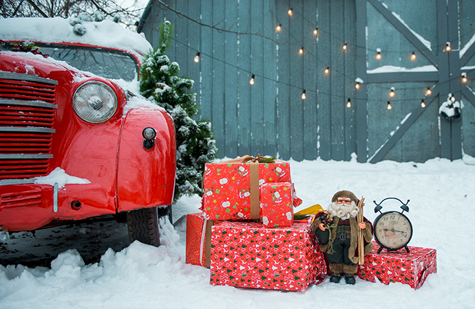 The ClassicCars.com gift guide is your source for holiday gift ideas for the classic car lover in your life. | Adobe Stock Image