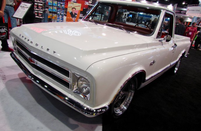 SEMA Seen: Chip Foose's 1967 Chevrolet C/28