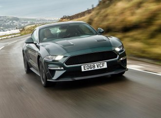 Watch a Ford Mustang Bullitt speed down the Isle of Man TT course