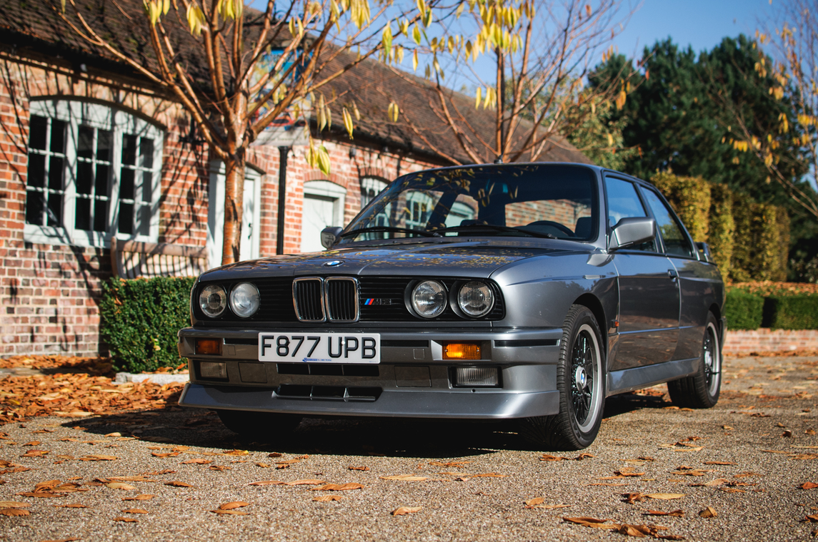 This is one of two BMWs owned by Jamiroquai lead singer Jay Kay that sold at auction. | Silverstone Auctions photo