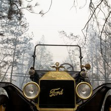 Ford Model T incredibly survives Northern California wildfire
