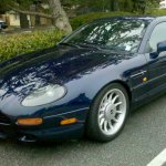 my db7 at concours on ave