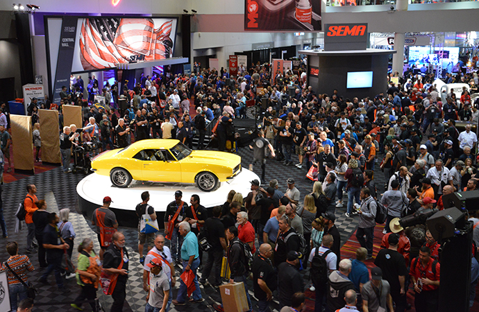 I wasn't ready: My first time at the SEMA Show in Las Vegas