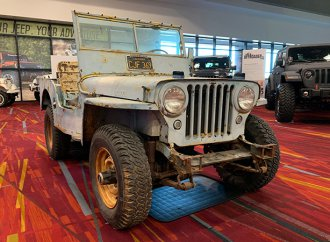 SEMA Seen: 1946 Willys CJ-2A nicknamed 'The Outlaw'