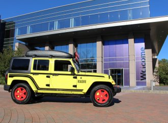 RoadM8 custom Jeep auction to benefit veterans' families