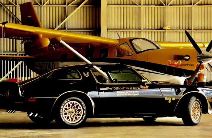 Car that inspired 'Smokey' Trans Am won't be offered at Indio auction