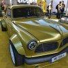 Jeff Allen unveils insane Volvo Amazon-Corvette mashup at SEMA Show