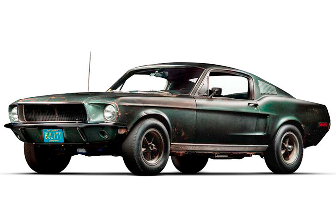 If you missed out on seeing the original Bullitt Mustang, don't worry. The tour will continue. | Shell photo