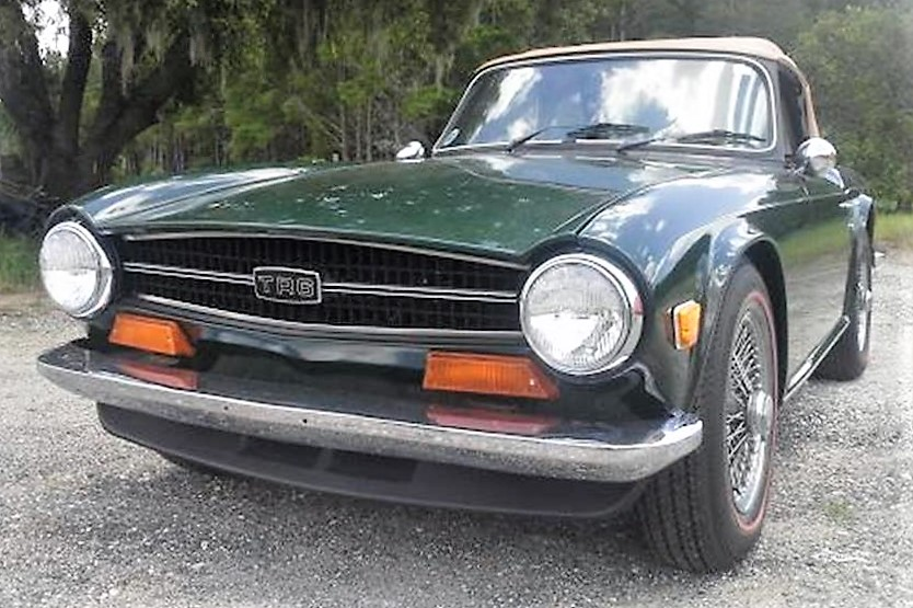 Low Mileage Barn Find 1972 Triumph Tr6 Sports Roadster