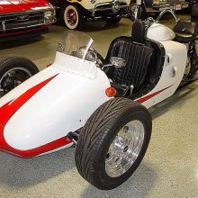 Harley trike has ties to Indy racing history