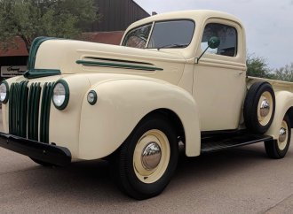 WWII-vintage Ford pickup