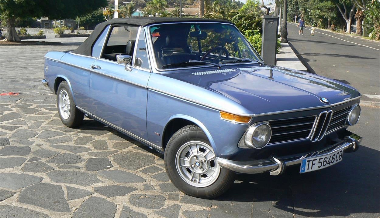 U201971 Bmw 1600 Convertible Has Upgraded 2002 Engine