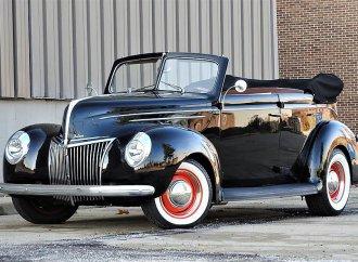 Cool restomod '39 Ford droptop