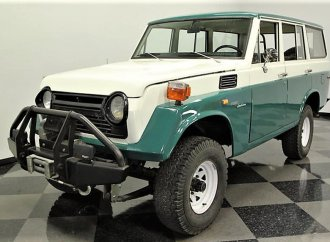 Upgraded and equipped, Toyota FJ55 Land Cruiser