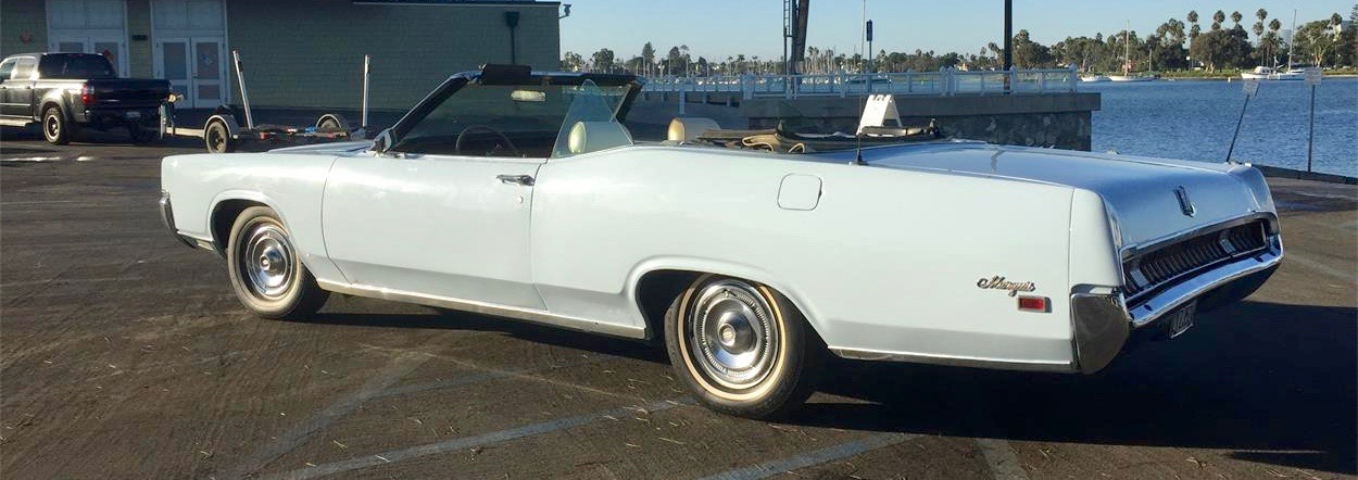 1969 Mercury, Restoration a work in progress on this big convertible, ClassicCars.com Journal