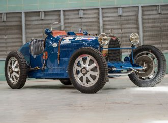 Bugatti Type 35A raced by Chiron on Worldwide docket