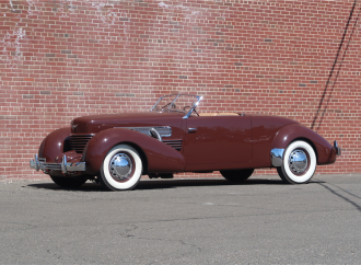 Barrett-Jackson countdown: 1937 Cord 812 Sportsman S/C cabriolet