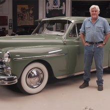 1950 Plymouth Suburban rolls into Jay Leno's Garage