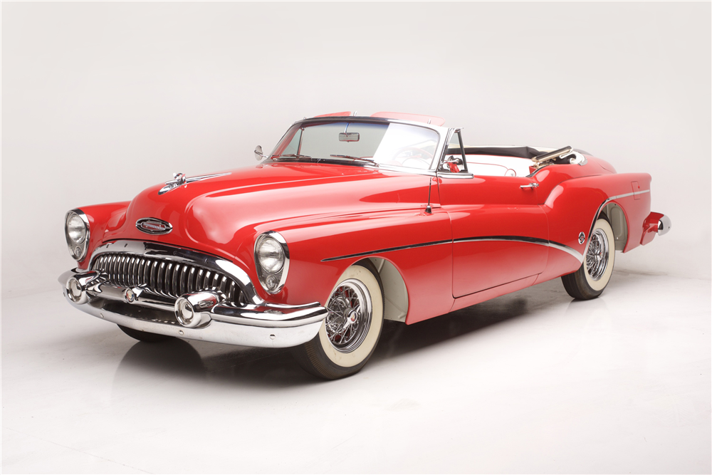 This 1953 Buick Skylark, a highlight of American car design, will be offered by Barrett-Jackson at its upcoming January auction in Scottsdale, Arizona. | Barrett-Jackson photos