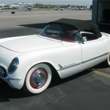 Barrett-Jackson countdown: 1953 Chevrolet Corvette convertible