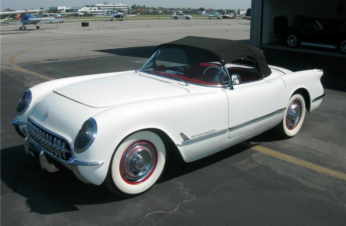 Barrett-Jackson countdown: 1953 Chevrolet Corvette convertible