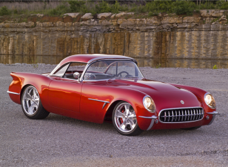 Barrett-Jackson countdown: Custom 1954 Chevrolet Corvette convertible